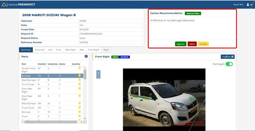 preinspect image 4 - GeniusPREINSPECT Solution: Taking Automation To The Next Level