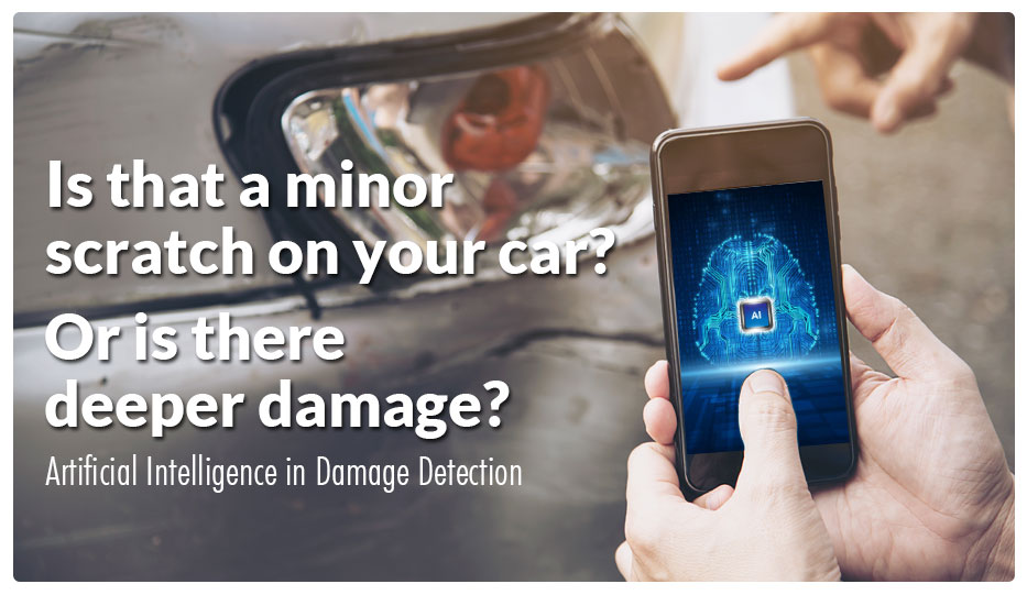 AI excels in Damage Detection