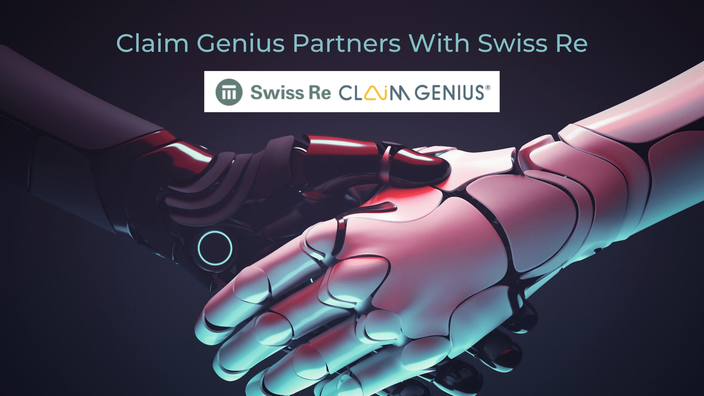 Claim Genius Partners With Swiss Re