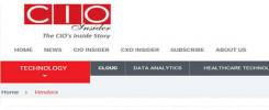 News Snippet_Claim Genius involved with CIO Insider
